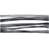 Beadalon Wire .015/49strand 10ft Stainless Steel Black
